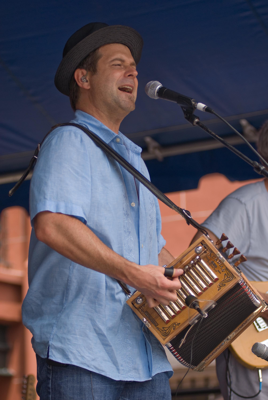 2008 Louisiana Cajun Zydeco Festival, Music, New Orleans, Steve Riley & the Mamou Playboys
