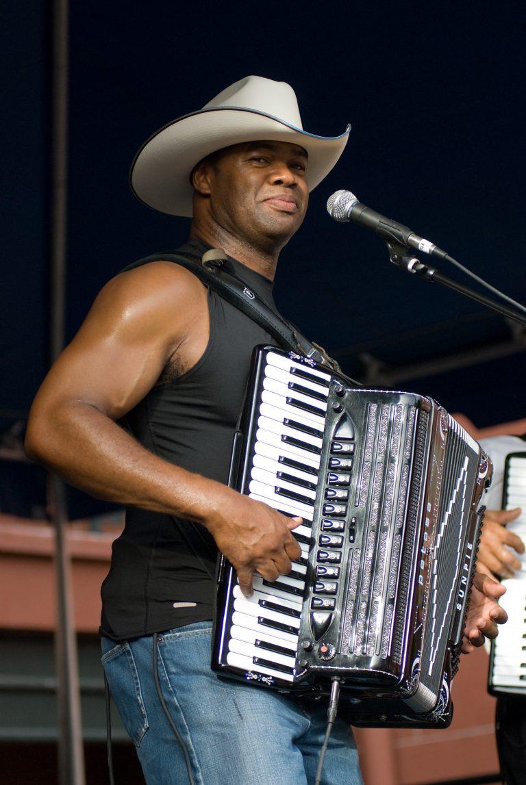 2008 Louisiana Cajun Zydeco Festival, Music, New Orleans, Sunpie & the La Sunspots