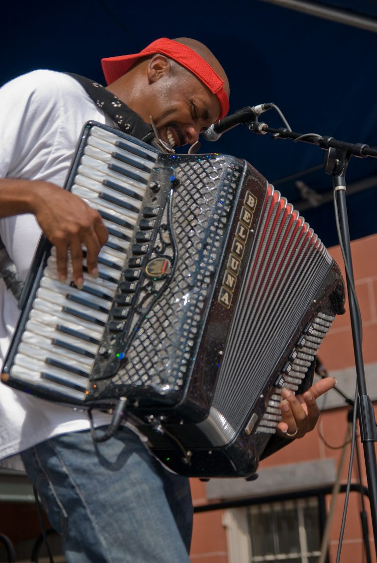 2008 Louisiana Cajun Zydeco Festival, Music, New Orleans, Li'l Brian and the Travelers
