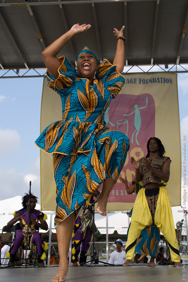 2008 Congo Square Rhythms Festival, Music, N'Kafu African Dance Troupe, New Orleans