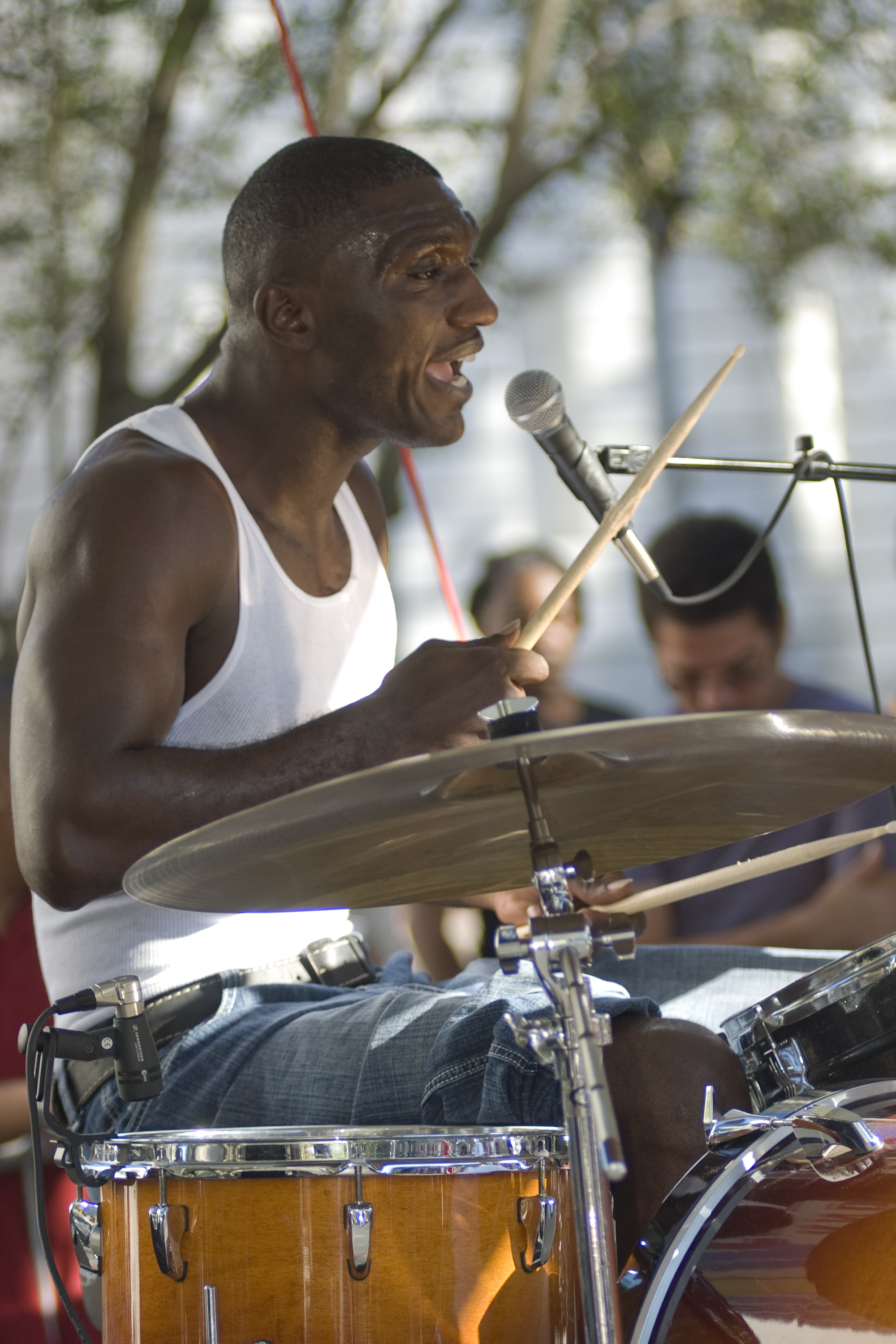 music, Cedric Burnside, 2008 Crescent City Blues and BBQ Festival