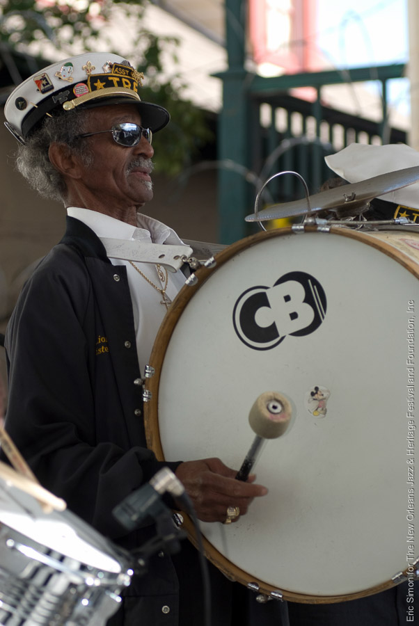 2008 Treme Creole Gumbo Festival, Music, New Orleans, Uncle Lionel - Treme Brass Band