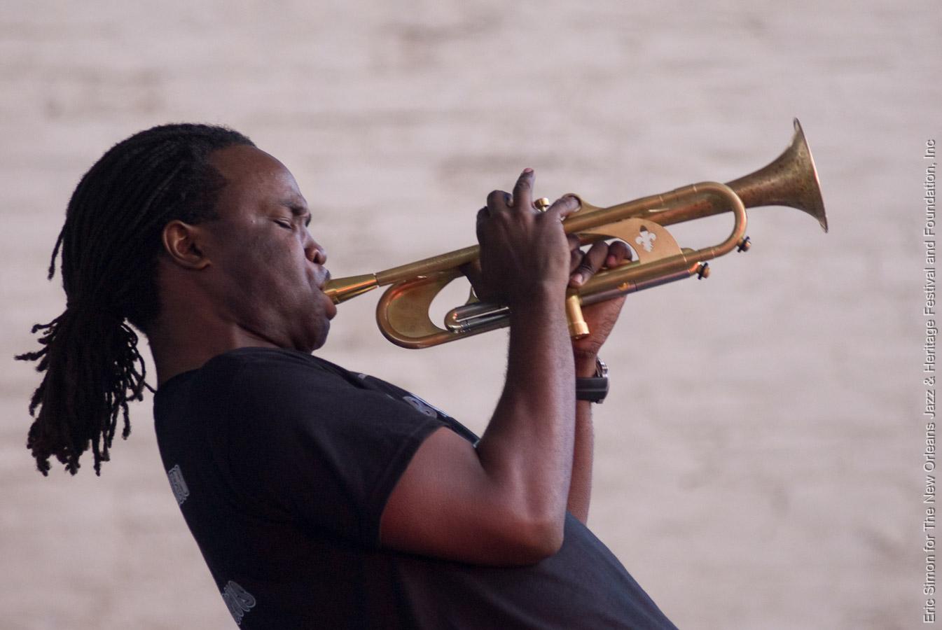 2008 Treme Creole Gumbo Festival, Music, New Orleans, Shamarr Allen