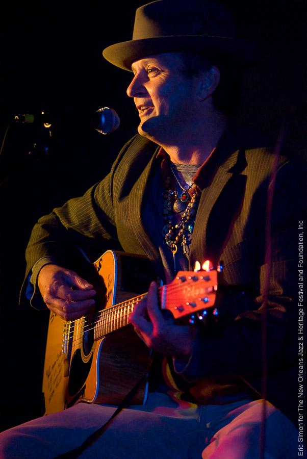 2008 Treme Creole Gumbo Festival, Music, New Orleans, Paul Sanchez