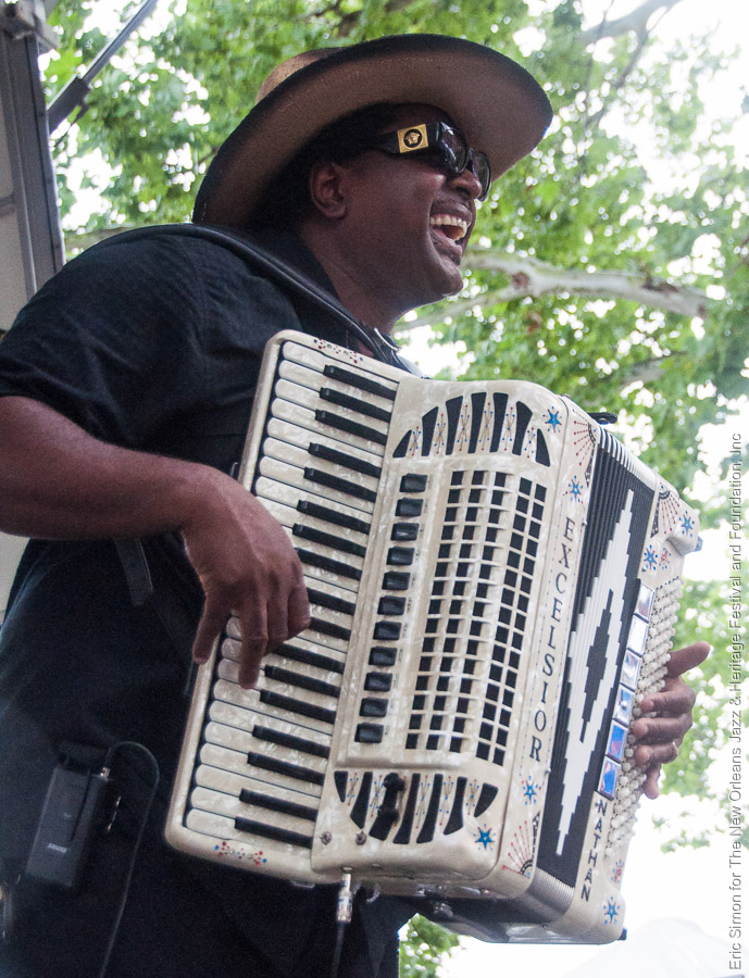 2012 Louisiana Cajun Zydeco Festival, Music, Nathan Williams & the Zydeco Cha Chas, New Orleans