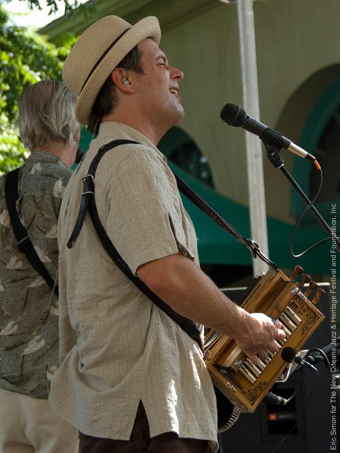 2009 Louisiana Cajun Zydeco Festival, Music, New Orleans, Steve Riley & the Mamou Playboys