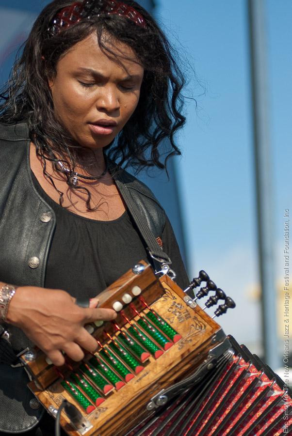 2009 Louisiana Cajun Zydeco Festival, Music, New Orleans, Rosie Ledet