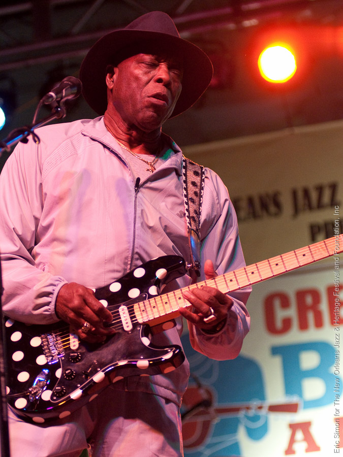 2009 Crescent City Blues and BBQ Festival, Buddy Guy, Music, New Orleans