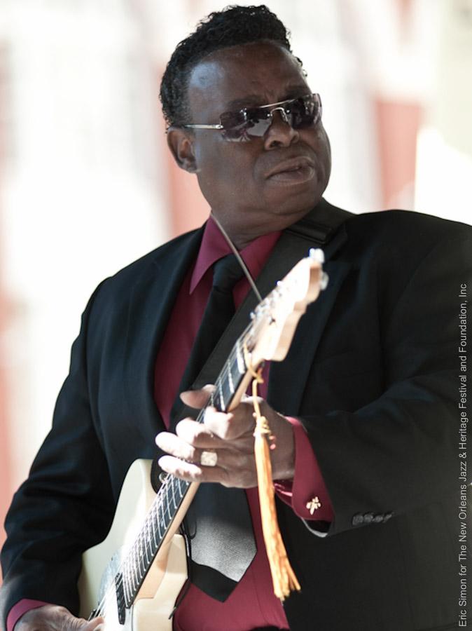 2009 Crescent City Blues and BBQ Festival, Ernie Vincent, Music, New Orleans
