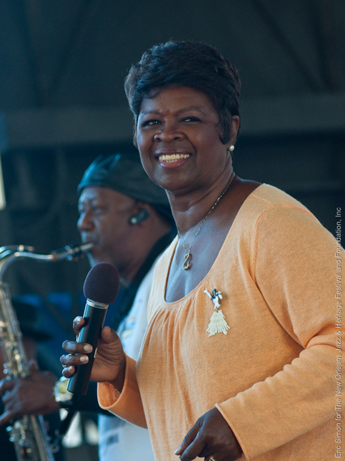 2009 Crescent City Blues and BBQ Festival, Irma Thomas, Music, New Orleans
