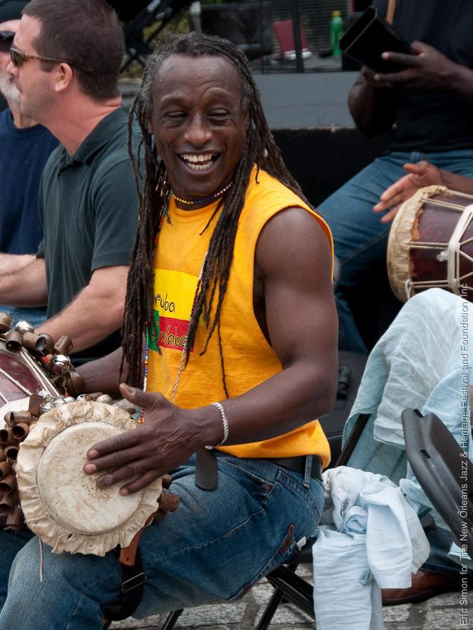 """Congo Square Rhythm Festival 2009, Félix Insua """"Pupy"""", Music, New Orleans"""