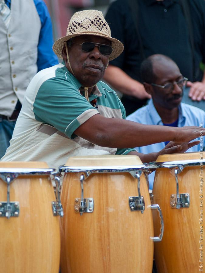 "Alfred ""Uganda"" Roberts, Congo Square Rhythm Festival 2009, Music, New Orleans"