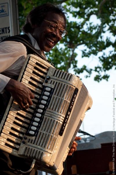 2010 Louisiana Cajun-Zydeco Festival, Music, New Orleans