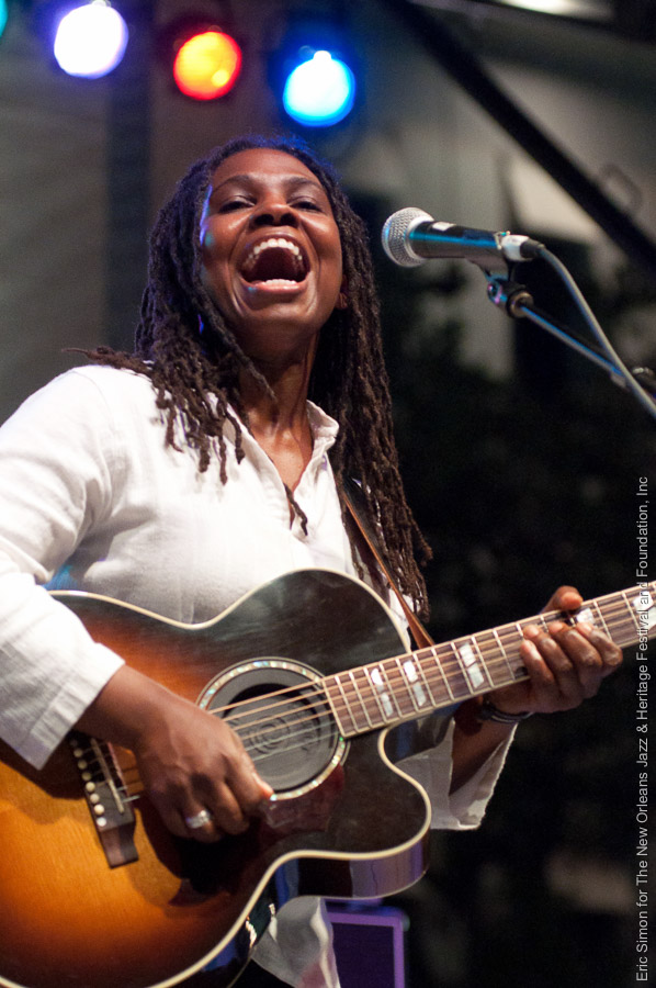 2010 Crescent City Blues and BBQ Festival, Music, New Orleans, Ruthie Foster