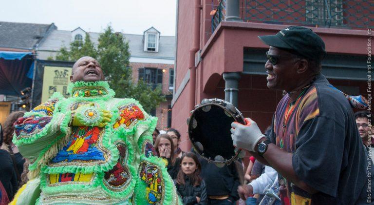 2010 Treme Creole Gumbo Festival, Mardi Gras Indian Battle, Music, New Orleans