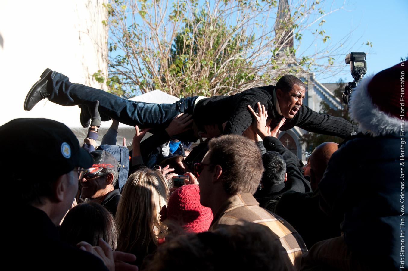 Glen David Andrews, Music, New Orleans, Third Annual Treme Creole Gumbo Festival 2010