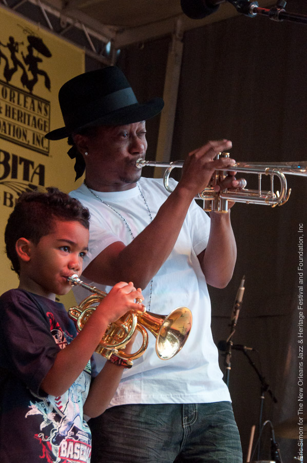 Kermit Ruffins & the BBQ Swingers, Music, New Orleans, Third Annual Treme Creole Gumbo Festival 2010