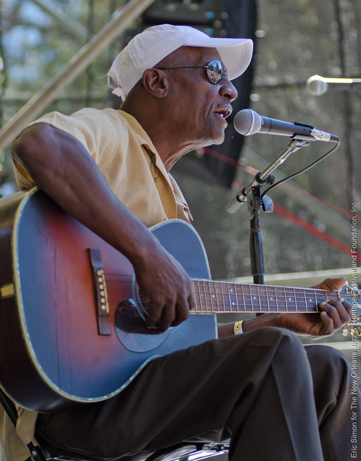 2011 Crescent City Blues and BBQ Festival, Jimmie Duck Holmes, Music, New Orleans