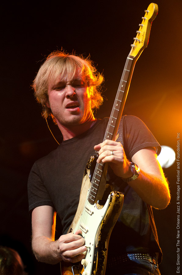 2011 Crescent City Blues and BBQ Festival, Kenny Wayne Shepherd, Music, New Orleans