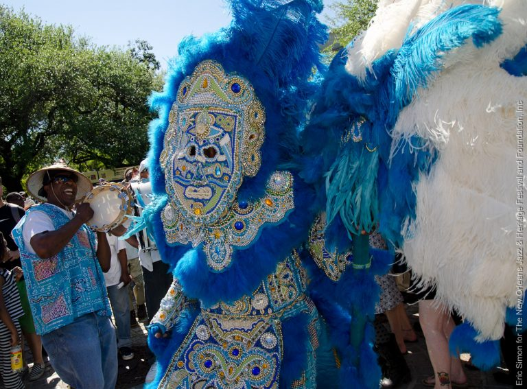 2012 Congo Square Rhythms Festival, Mardi Gras Indian Battle, Music, New Orleans