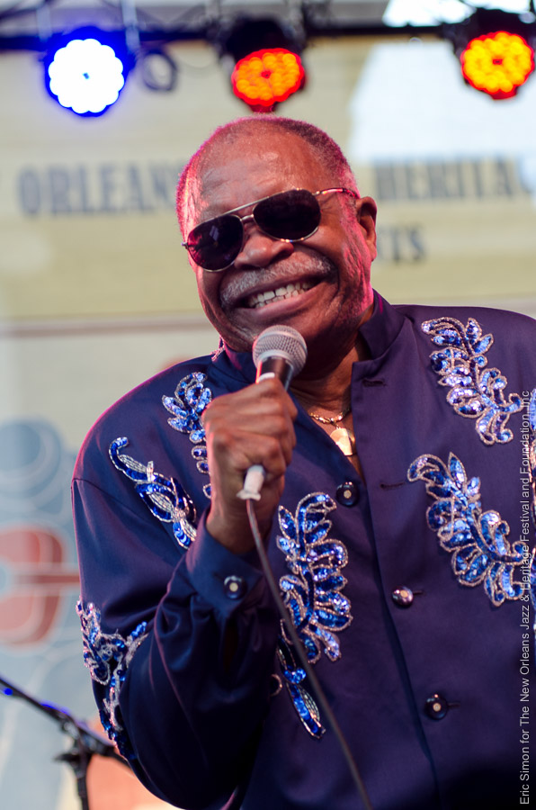 2012 Crescent City Blues and BBQ Festival, Music, New Orleans, The Bo-Keys with Otis Clay