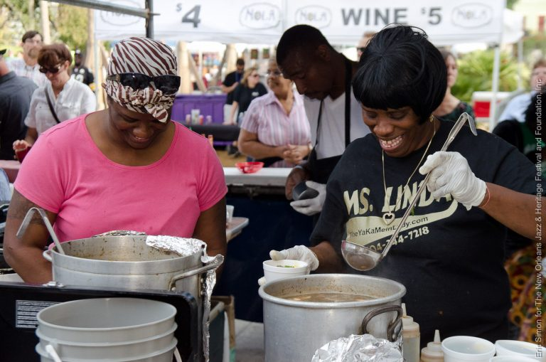 2012 Treme Creole Gumbo Festival, Food, Ms. Linda Green
