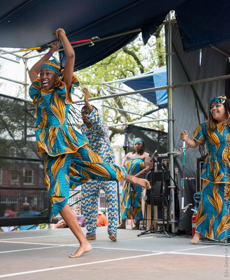 2013 Congo Square Rhythms Festival, Music, N'Kafu African Dance, New Orleans