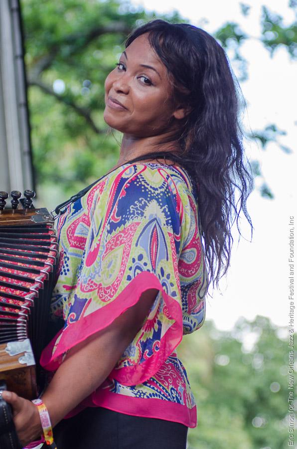 2013 Louisiana Cajun Zydeco Festival, Music, New Orleans, Rosie Ledet
