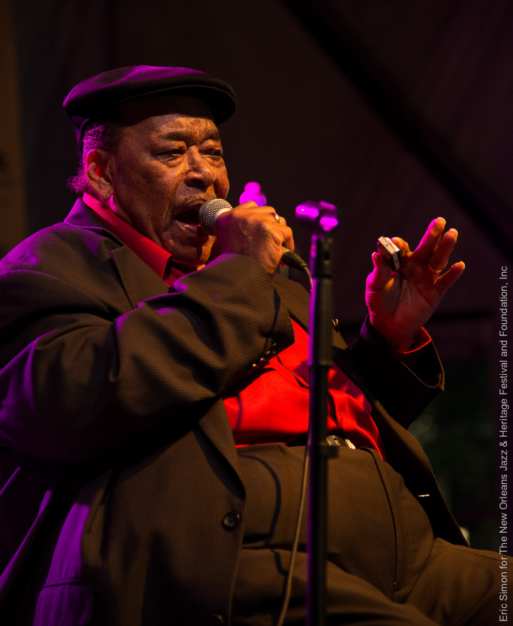 2013 Crescent City Blues and BBQ Festival, James Cotton, Music, New Orleans