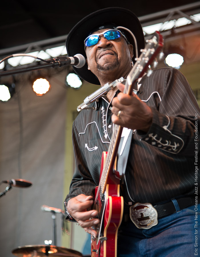 2013 Crescent City Blues and BBQ Festival, Guitar Lightning Lee, Music, New Orleans