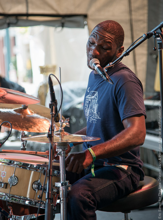 2013 Crescent City Blues and BBQ Festival, Cedric Burnside Project, Music, New Orleans