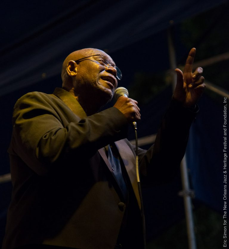 2013 Crescent City Blues and BBQ Festival, Mighty Sam McClain, Music, New Orleans
