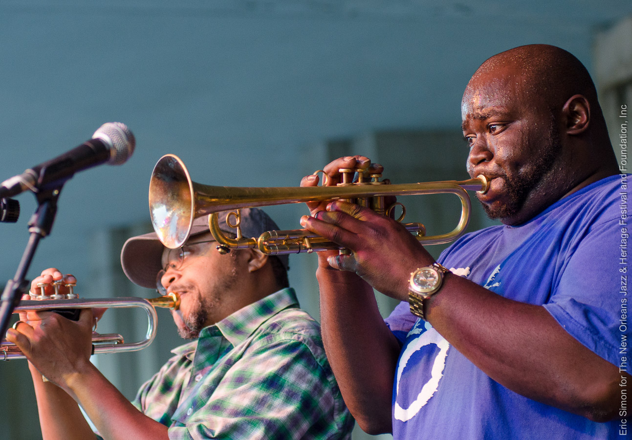 2013 Treme Creole Gumbo Fest, Hot 8 Brass Band