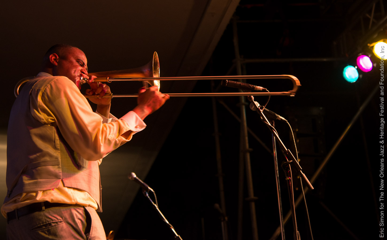 2013 Treme Creole Gumbo Fest, Glen David Andrews