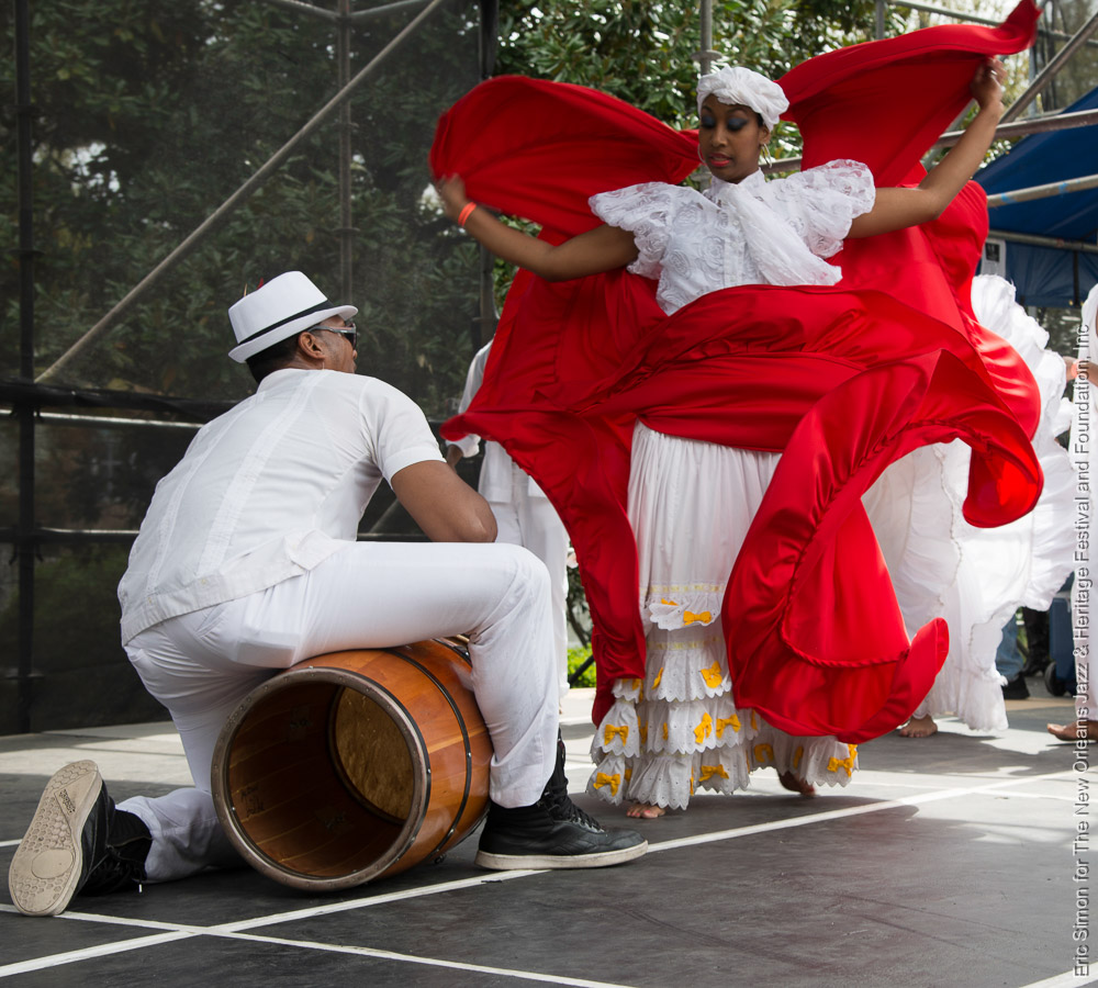 2014 Congo Square Rhythms Festival, Bombazo Dance Co., Music, New Orleans
