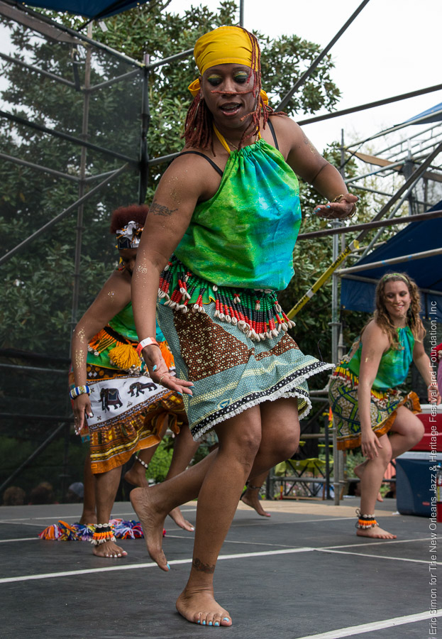 2014 Congo Square Rhythms Festival, Music, N'Fungola Sibo Dance Theater, New Orleans
