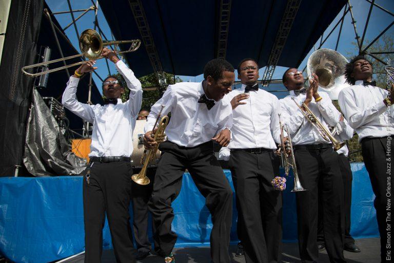 2014 Congo Square Rhythms Festival, Class Got Brass, Edna Karr High School, Music, New Orleans