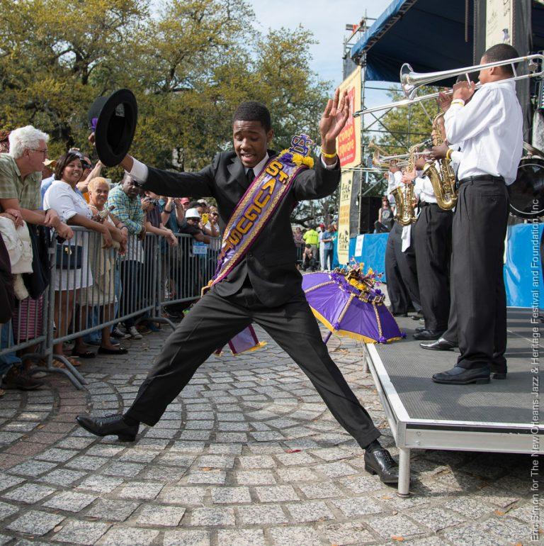 2014 Congo Square Rhythms Festival, Class Got Brass, Music, New Orleans, St. Augustine High School