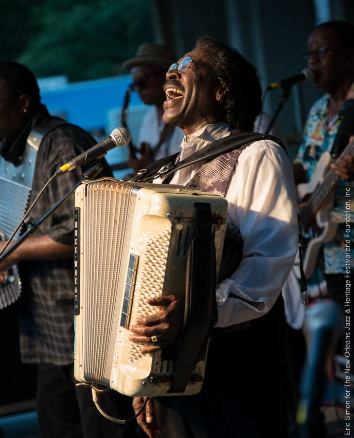 2014 Louisiana Cajun Zydeco Festival, Buckwheat Zydeco, Music, New Orleans