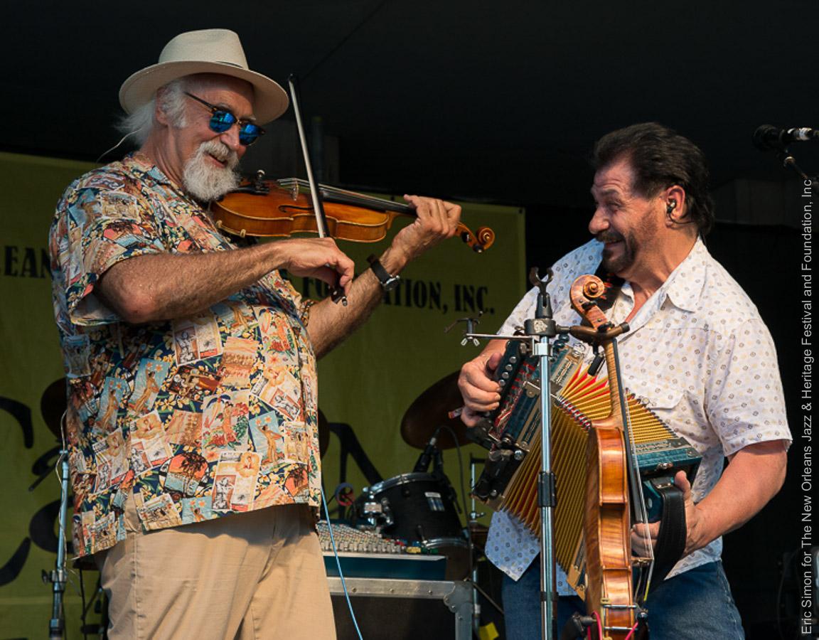 2014 Louisiana Cajun Zydeco Festival, BeauSoleil avec Michael Doucet, Music, New Orleans