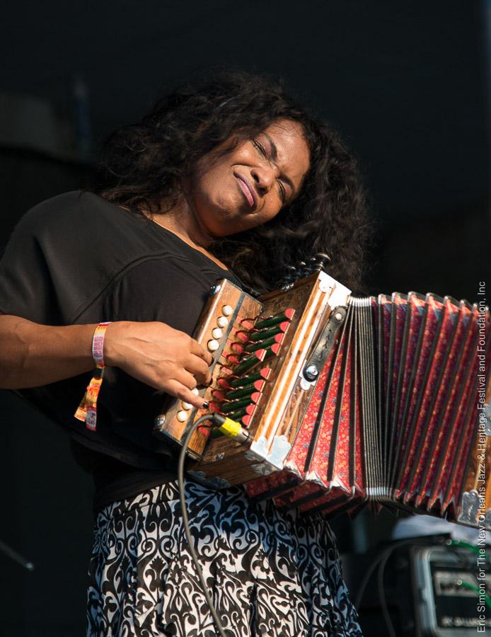 2014 Louisiana Cajun Zydeco Festival, Music, New Orleans, Rosie Ledet