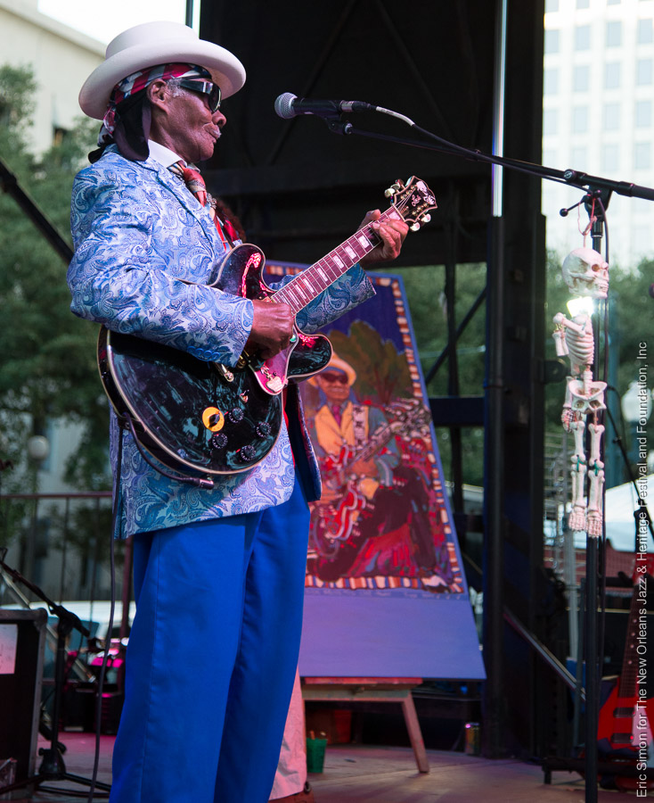2014 Crescent City Blues and BBQ Festival, Little Freddie King, Music, New Orleans