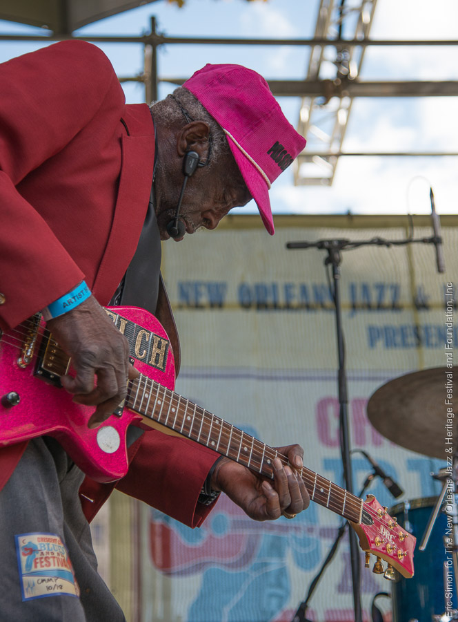 "2014 Crescent City Blues and BBQ Festival, Leo ""Bud"" Welch, Music, New Orleans"