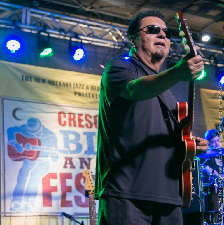 2014 Crescent City Blues and BBQ Festival, César Rosas - Los Lobos, Music, New Orleans