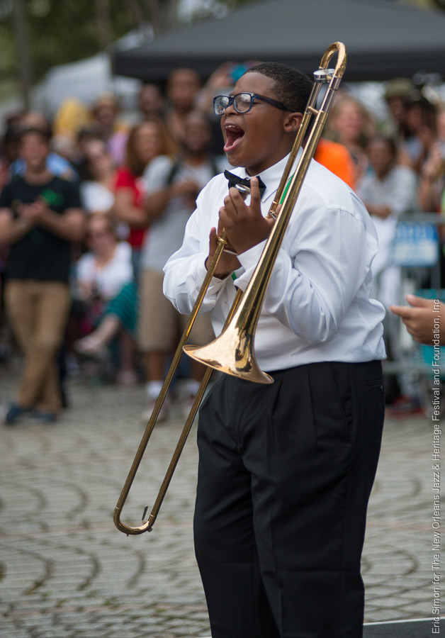2015 Congo Square Rhythms Festival, Medard H Nelson Charter School, Music, New Orleans