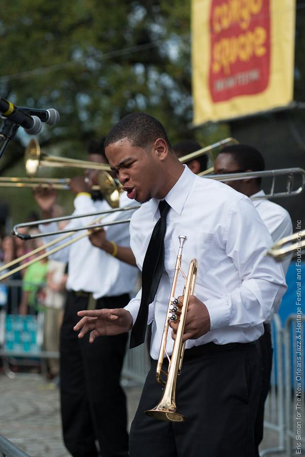 2015 Congo Square Rhythms Festival, Class Got Brass, McDonogh 35 High School, Music, New Orleans
