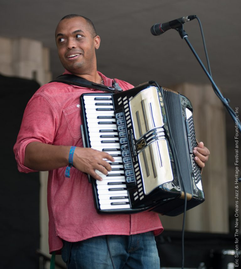 2015 Louisiana Cajun Zydeco Festival, Corey Ledet & His Zydeco Band, Music, New Orleans