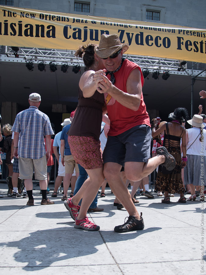 2015 Louisiana Cajun Zydeco Festival, Dancing, Music, New Orleans