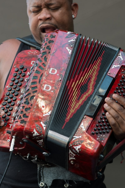 2015 Louisiana Cajun-Zydeco Festival, Music, New Orleans