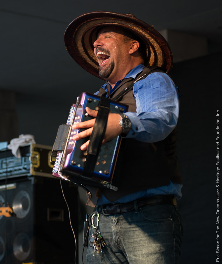 2015 Louisiana Cajun Zydeco Festival, Music, New Orleans, Terrance Simien & the Zydeco Experience
